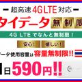 タイ専用海外WiFiレンタルサービス タイデータ